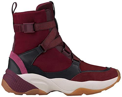 Marc O'Polo Damen 90815233505610 Hohe Sneaker, Rot (Bordo 376), 40 EU
