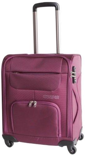 [アメリカンツーリスター]スーツケースキャリーケースエムブイソフトスピナー39L機内持ち込み可保証付45cm2.6kgグレープ