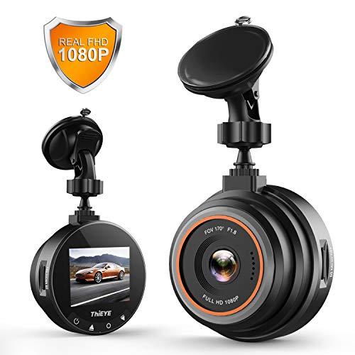 ドライブレコーダー 1080PフルHD 170˚ 広視野角 Gセンサー WDR スーパーナイトビジョン 駐車監視/衝撃録画/動体検知/ループ録画 1200万画素