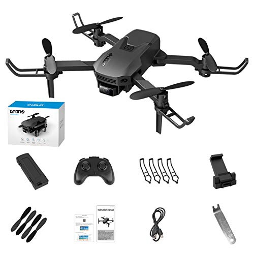 H1 Mini Remote Control Drone 4K 1080P Arms 3D Roll Foldable Portable 2.4GHz RC Quadcopter Follow One Key Return Drone Video Equipment Drones for Kids 8-12 Drones with Camera for Kidsby Lzqzjg37tfnl