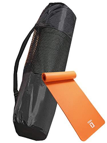 LICLI ヨガマット おりたたみ トレーニングマット エクササイズマット ヨガ ピラティス マット 厚さ 10mm...