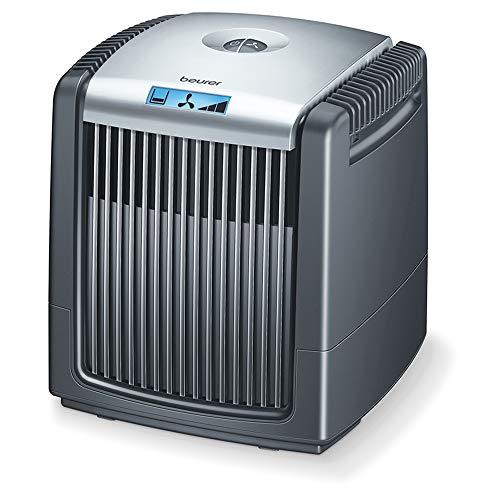 Beurer LW 230 Purificador de aire, humidificador y purificador de aire, para habitaciones de hasta 40 metros cuadrados, elimina el polvo, el polen, el pelo de animales y los olores