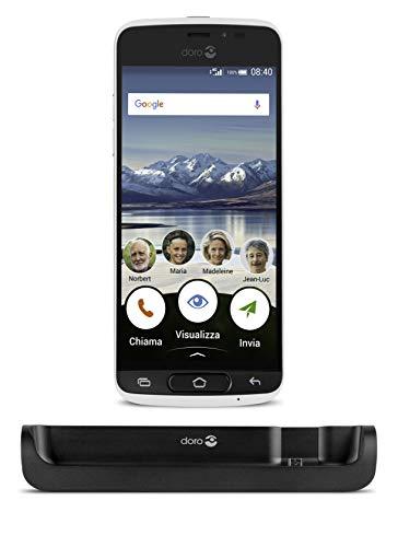 Doro Phone 8040 - Smartphone de 5' (Memoria de 32 GB, Camara de 8 MP, Android...