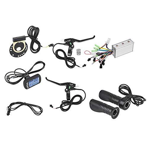 Alomejor 36V / 48V 250W / 350W Brushless-Motorsteuerung LCD-Panel-Kit E-Bike-Umrüstung für E-Bike-Elektro-Bike-Roller(36V/48V 250W/350W)