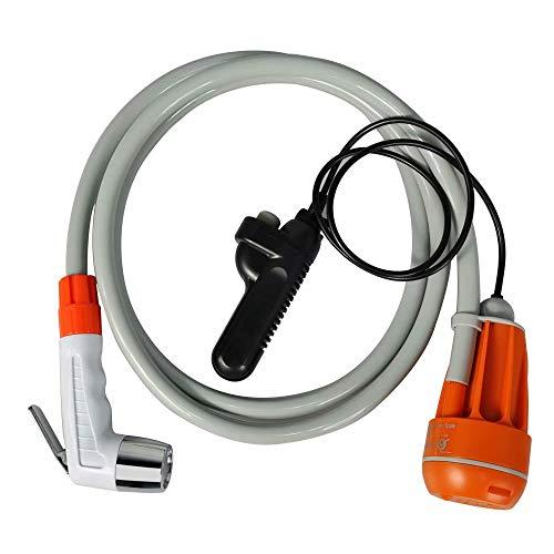 Camping DUSCHEN TRAGBAR ELEKTRISCH - Außendusche wiederaufladbare USB-Mehrzweck-Autodusche mit Schalter, durch CNAS-Tests, US FCC, EU CE und andere Zertifizierungen.