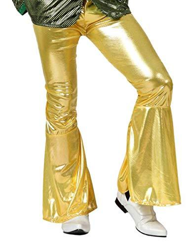 ATOSA – Kostüm Disco Gold Erwachsene Hose M-L