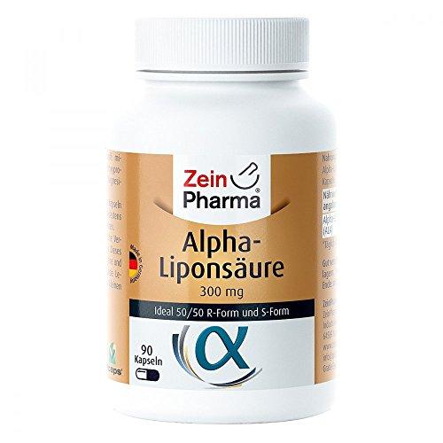 Zein Pharma Alpha-Liponsäure 300 mg Kapseln, 90 St. Kapseln
