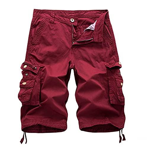 N\P Shorts Männer Sommer Armee Homme...