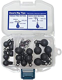 Doggin' Pack Steelhead Weights | Lead-Free Sinkers 1/4oz, 1/3oz and 1/2oz. SteelCore Float, Drift, Bobber-Dog, Centerpin & Side-Drift