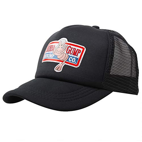 Zonfer Réglable Bubba Gump Shrimp Casquette de Baseball brodé Snapback Courir Chapeaux