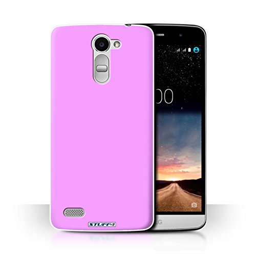 Hülle Für LG Ray/X190 Farben Rosa Design Transparent Ultra Dünn Klar Hart Schutz Handyhülle Hülle
