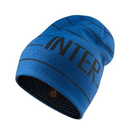 Nike Inter Mens Beanie 506706-440 Herren Fußballcap Dunkelblau