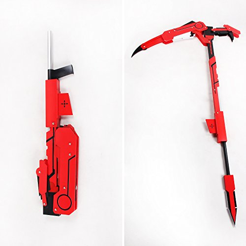 aition 1449 RWBY Ruby Crescent Rose The High Velocity Sniper-Scythe Transformed Cosplay Prop