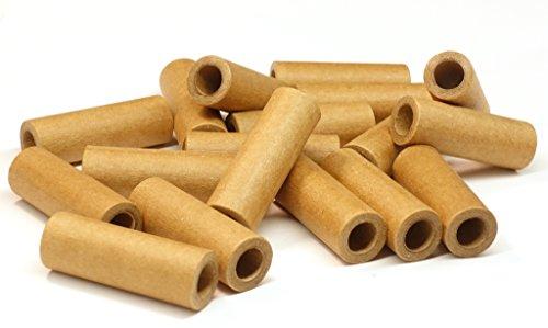 8,0 x 14 x 40 mm Papphülsen, cardboard, heavy paper tubes, parallel gewickelt, sehr fest, verschiedene Stückzahlen auswählbar (10)