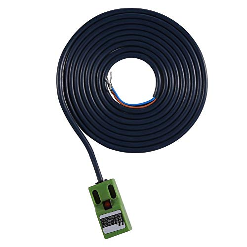 Automatische nivelleringssensor, DC 6-36V Auto leveling sensor, groen SN04-N zelfnivellerende heatbed positie-instelling inductieve naderingssensor voor DIY 3D-printer accessoires