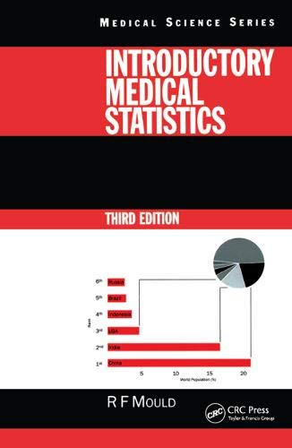 Introductory Medical Statistics, 3rd edition (Medical Science)