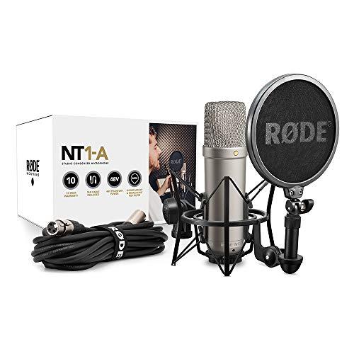 Rode NT1A (Großmembran-Kondensatormikrofon, Nierenkapsel, Audio Interface benötigt) - 11