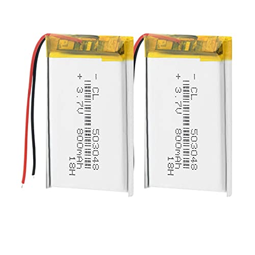 THENAGD 400mah 3.7v 303048 Nueva Mini Batería De Litio De PolíMero De Litio, Batería De Li Ion Po Control Remoto e-Book Router CáMara Bateria 1piece