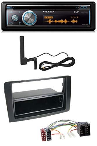 caraudio24 Pioneer DEH-X8700DAB Bluetooth DAB MP3 USB CD Autoradio für FIAT Idea (350 03-11) schwarz