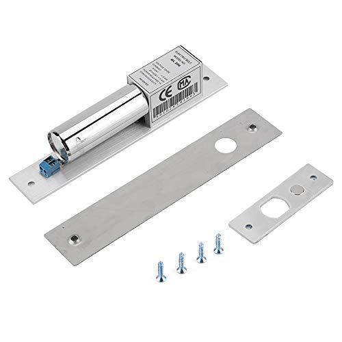 Garosa Magnetisch deurslot, elektromagnetisch, deurslot, voor deuren, van metaal, met sleutel, 12 V