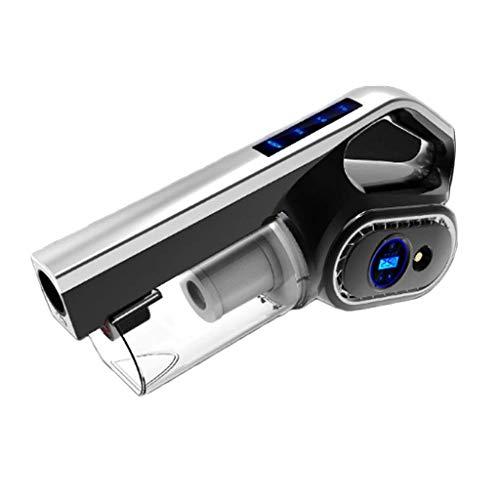 DHTOMC Aspirador de automóviles, 4000PA portátiles 4000PA Fuerte succión ciclónica 120W Alta Potencia de Alta Potencia Doble Motor Doble Motor LED Coche Hogar Aparcamento de Mano Xping