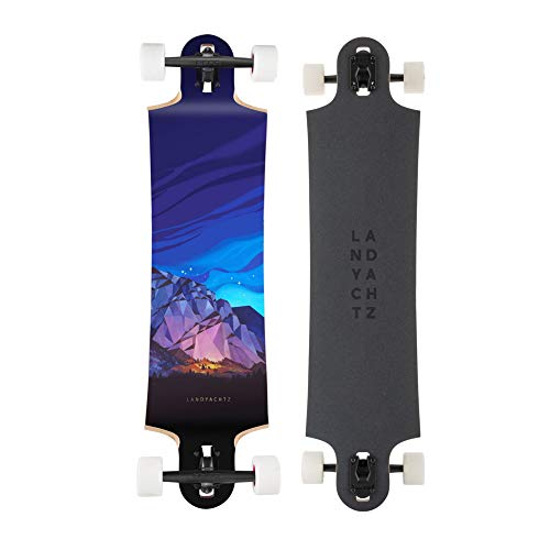 Landyachtz Switchblade & Ten Two Four Longboard, Deck and Complete [Multiple Sizes] (40' - Chief...