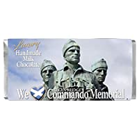 スコットランドのコマンドーメモリアルミルクチョコレートバーハンドメイドギフト