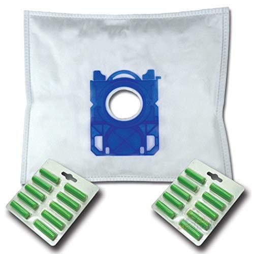 20 x Mr.Clean Staubsaugerbeutel + 20 Duftstäbe geeignet für Rossmann R 040 R040