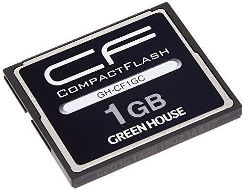 『グリーンハウス 70倍速(10MB/s)スタンダードコンパクトフラッシュ 1GB GH-CF1GC』の1枚目の画像