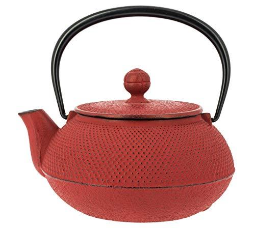 Gusseisen Teekanne Iwachu, rot