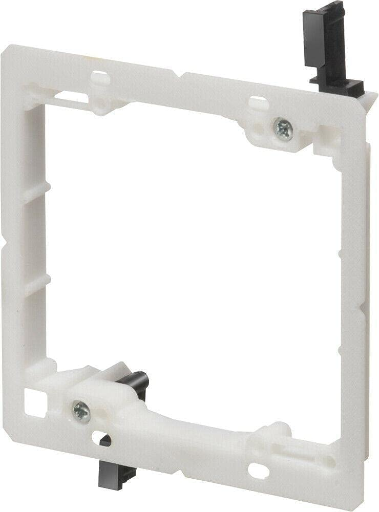 Two-Gang Low-Profile Low-Voltage Mounting Bracket Pack Overseas parallel import 2021new shipping free shipping regular item Box 5 ca