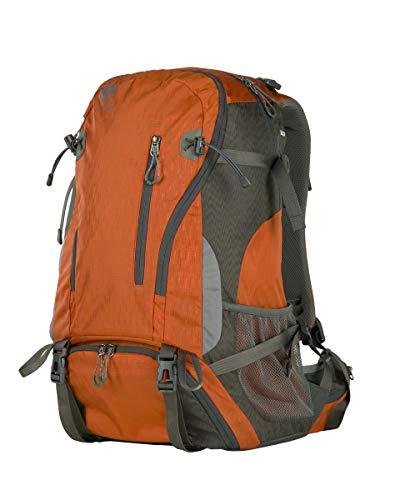 Genesis Denali Fotorucksack Outdoor (DSLR und Zubehör, Stativbefestigung, extra Fotofach) (40 Liter, orange)