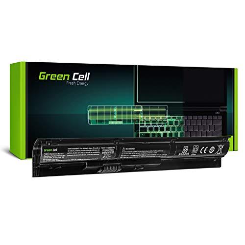 Green Cell Standard Serie VI04 Batteria per Portatile HP 17-P, HP ProBook 440 G2 445 G2 450 G2 455 G2, HP Pavilion 14-V 15-P 17-F, HP Envy 14-U 15-K 17-K (4 Pile 2200mAh 14.8V Nero)