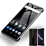 Unlocked Cell Phone, X5(2020) Android Smartphone, Supply 3G-WCDMA:850/2100MHZ SIM Card Band, 5.5-inch IPS Full-Screen, 2GB RAM 16GB ROM, 4800mAh, Internal Battery, (Support T-Mobile) (Black)
