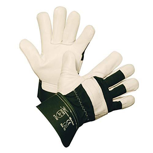 Kerbl 297183 Worker Rindsvollleder Handschuh, Größe 9