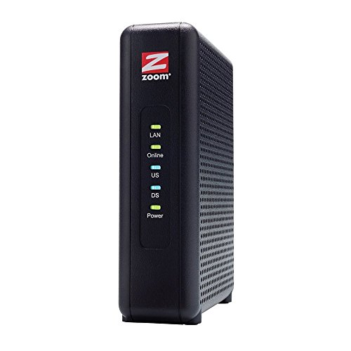 Zoom 5345 DOCSIS 3.0 High-Speed Cable Modem - Black
