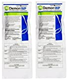 Demon WP Insecticide 2 Envelopes Containing 4 Water-Soluble 9.5 Gram Packets Makes 4 Gallons Cypermethrin 40%