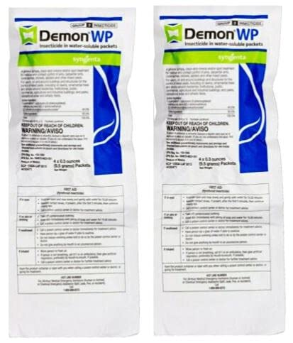 Demon WP Insecticide 2 Envelopes Containing 4...