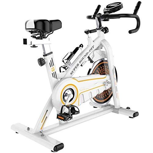 Bicicleta Estática de Fitness,Bicicleta Spinning Profesional con Monitor Multifuncional,Bicicleta Gimnasio Perder Peso...