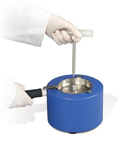 Bel-Art H37260-0100 Mini-Mörser und Stößel, flüssiges Stickstoffgekühlt, 16,5 x 11,4 cm