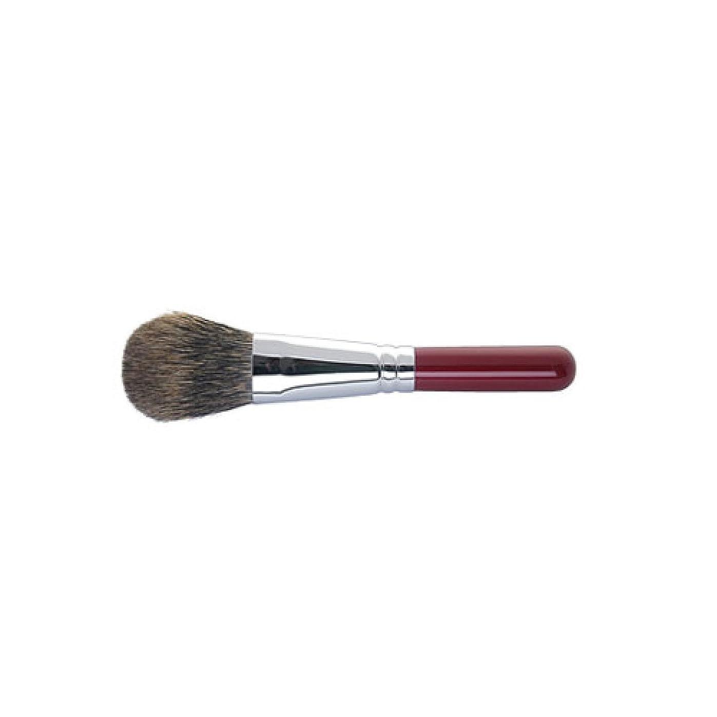 粘着性ピケキルス熊野筆 Ai brush 8-3S/チークブラシ/丸平