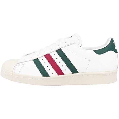 Adidas Superstar 80s, Zapatillas de Deporte para Hombre, Blanco (Ftwbla/Veruni/Rubmis 000), 39 1/3 EU