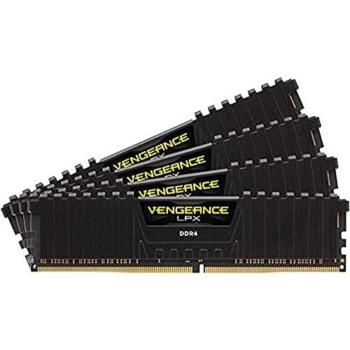 Corsair Vengeance LPX 64GB (4x16GB) DDR4 4000 (PC4-32000) C181.35V Desktop Memory - Black