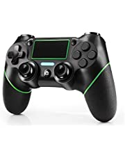 JAMSWALL Mando para PS4, Inalámbrico Controlador para Playstation 4 Wireless Controller Bluetooth Gamepad Joystick con Vibración Doble Jack de Audio de Seis Ejes