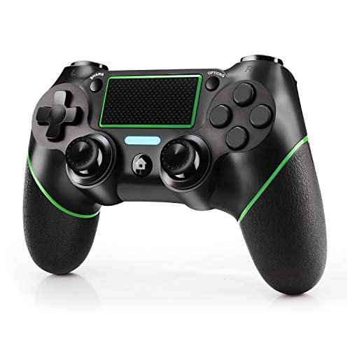 JAMSWALL Controller Wireless per PS4, Gamepad Bluetooth per Playstation 4 Controller di Gioco Wireless Doppio Shock a Sei-Assi Joystick con TouchPad e Jack Audio