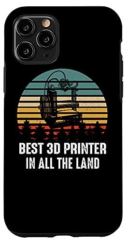 iPhone 11 Pro Best 3D Printing Printer Artwork Creative Design Model Case