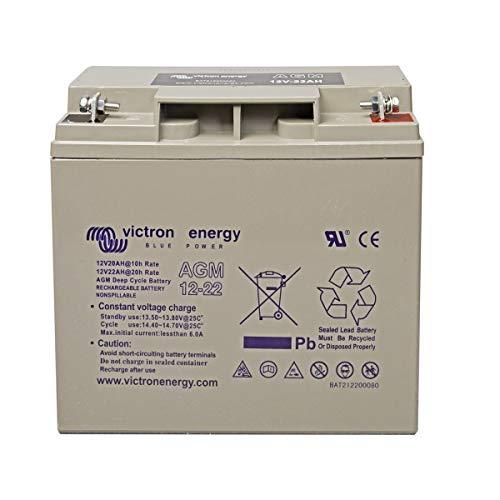 Victron Energie - Petite batterie AGM à décharge lente 22Ah