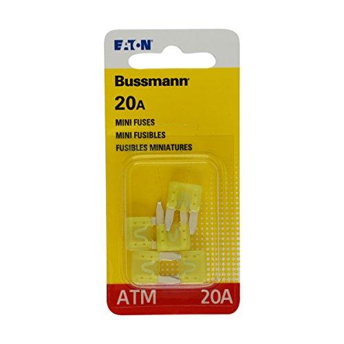Bussmann 0408.1332 BP/ATM-20 20 Amp Fast Acting Mini-Fuse