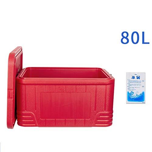 JCOCO Performance Kühlbox | 80L Autokühlschrank - 96 Stunden Isolierung - Kühlbox für Leistungsbiergetränke - Kühlbox für Bierparty im Freien