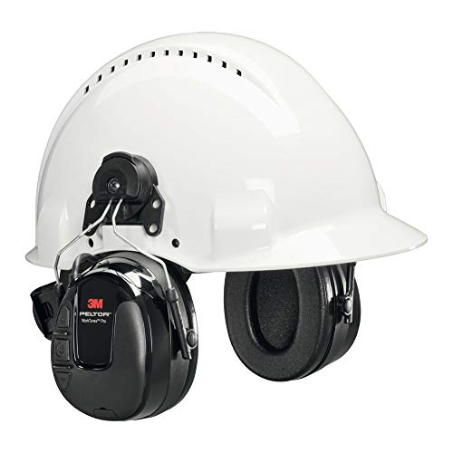3M(tm) PELTOR(tm) WorkTunes(tm) Pro FM Radio Headset, 31 dB, Helmet Mounted, HRXS220P3E